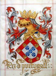 Resultado de imagen de cimera escudo portugal dragon
